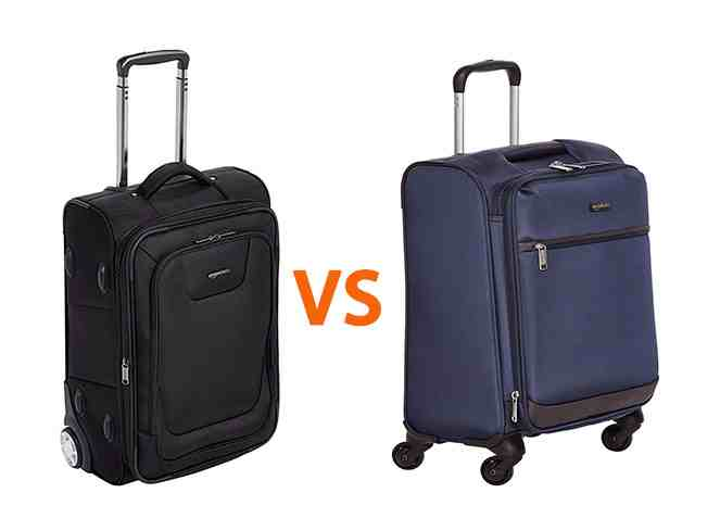 2 WHEEL VS 4 WHEEL LUGGAGE