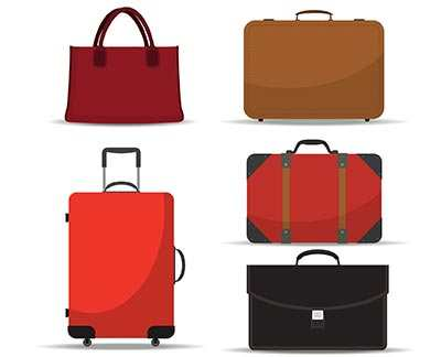 TYPES OF LUGGAGE DEPENDING ON THE MATERIAL
