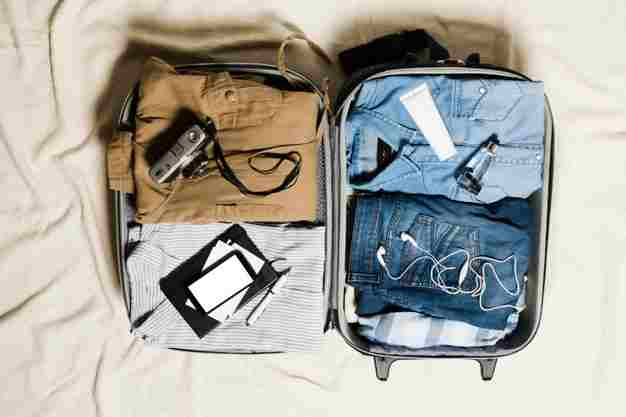 HOW TO PACK A SUITCASE FOR 7 DAYS